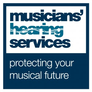 Logo for Musicians Hearing Services - protecting your musical future