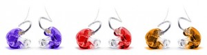 Colour customised In-ear Monitors from Harley Street Hearing