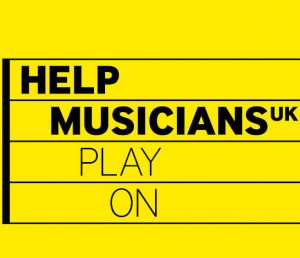 Help Musicians Play On square logo