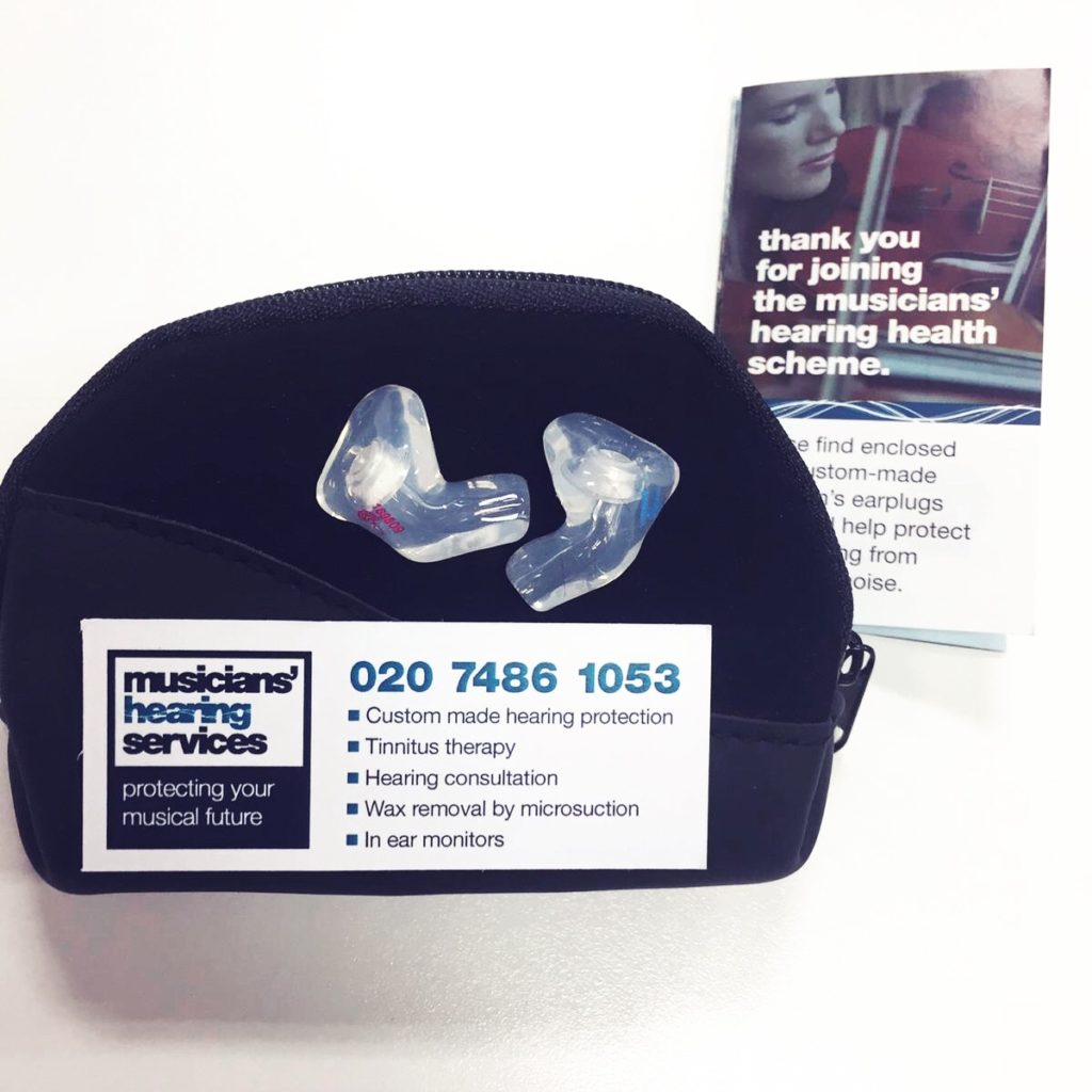 Musicians Ear Plugs - Musician's Hearing Services